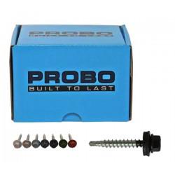Pak Probo Profielplaatschroeven SW8 RAL3009 4.9x35 (50)